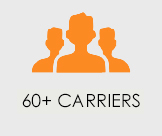 60+ carriers
